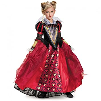 Amazing Amazon.com: Disguise Queen Deluxe Alice Through The Looking Glass Movie  Disney Costume, Red, Small/4 6X: Toys U0026 Games