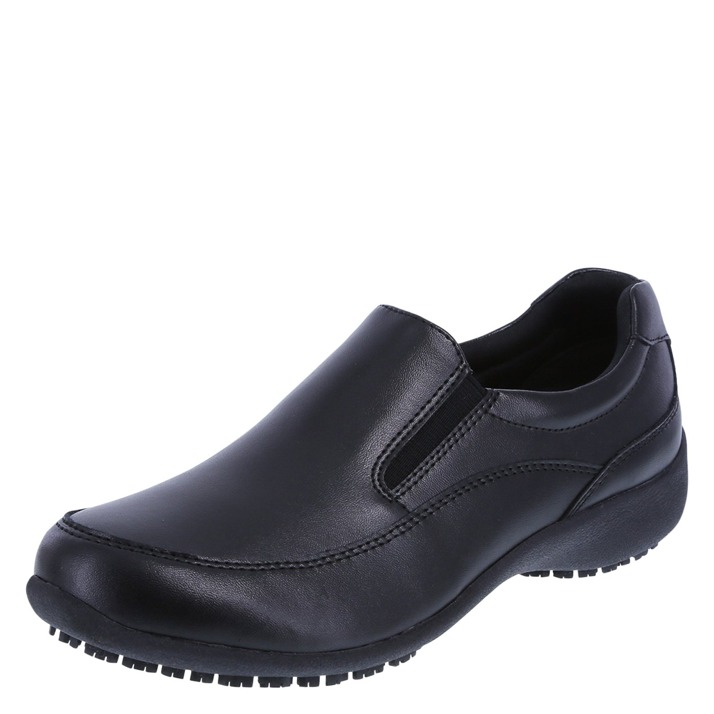 safeTstep レディース B01J91GUUY 8.5 C/D US|Black Leather Black Leather 8.5 C/D US