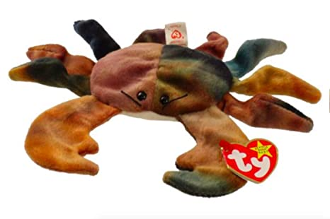 e000bcfb3ae Image Unavailable. Image not available for. Color  TY Beanie Babies Claude  the Crab ...