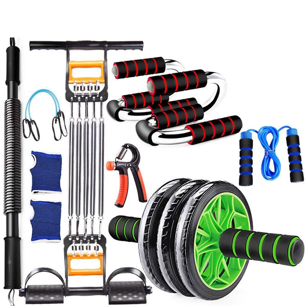 男性フィットネス機器、腹部ホイール家庭用多機能トレーニングセット細身腕の筋肉腹部筋肉のホイール B07HC9HHBH 50KG|B B 50KG