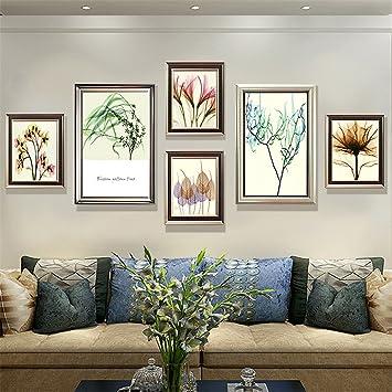 Bilderrahmen, Bilderrahmenwand Dekorative Gemälde Wohnzimmer ...