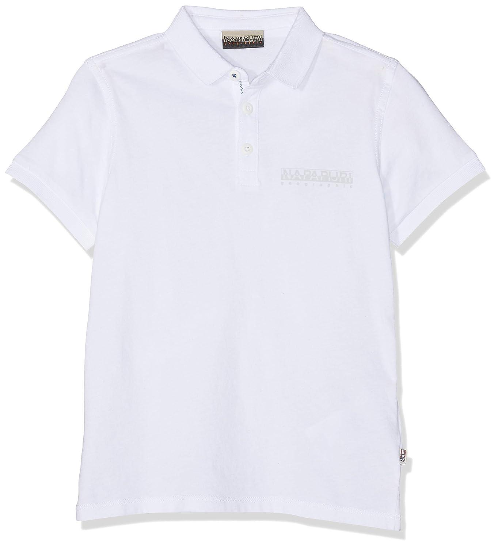 Napapijri K Evora Polo, Blanco (Bright White 002), 128 (Talla del ...