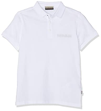 Napapijri K Evora Polo, Blanco (Bright White 002), 122 (Talla del ...