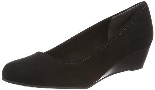 Marco Tozzi 22302, Zapatos de Tacón para Mujer, Negro (Black), 41 EU