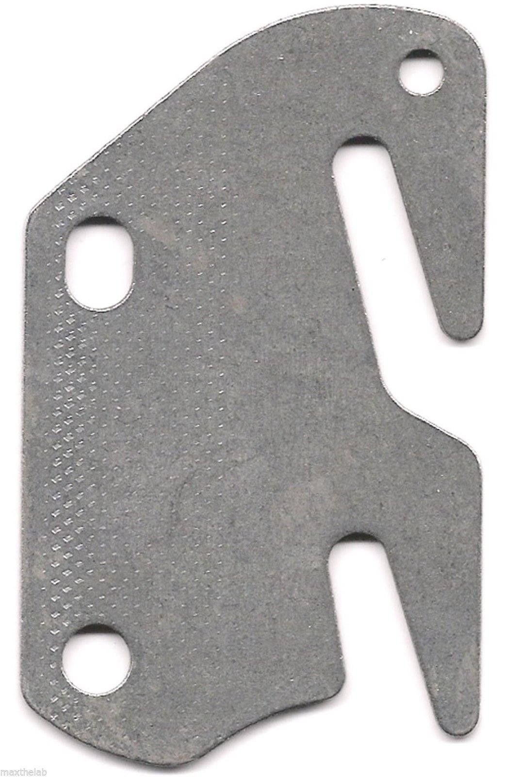 Bed Rail Double Hook Flat Plate Fits 2'' Bracket or Bed Post 13 ga. Steel USA by Bed Replacement Parts