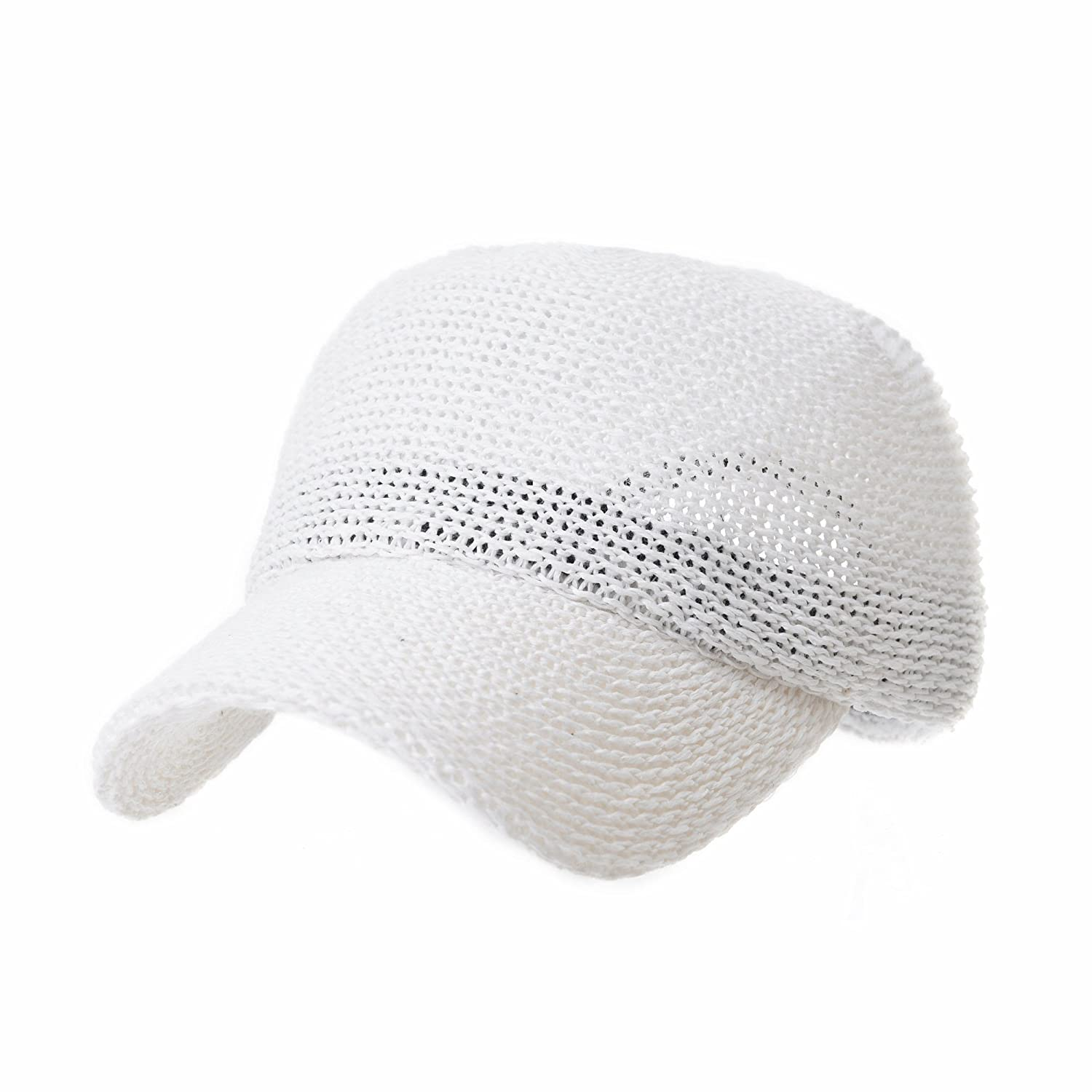 WITHMOONS Baseball Cap Summer Paperstraw Mesh for Men Women KR1960 (Beige)  at Amazon Men s Clothing store  3f968a87a2f4