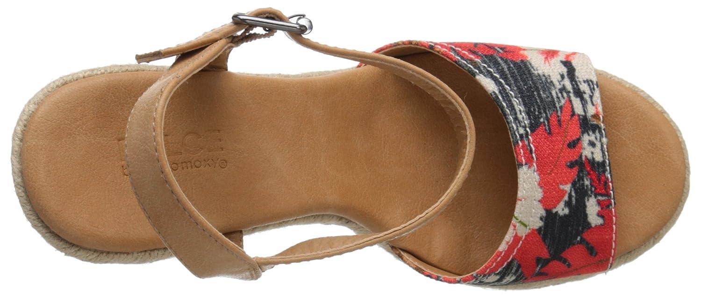 Dolce by Mojo Moxy Sandal Women's Posey Espadrille Wedge Sandal Moxy B016N9GASM 8 B(M) US|Black e4d381