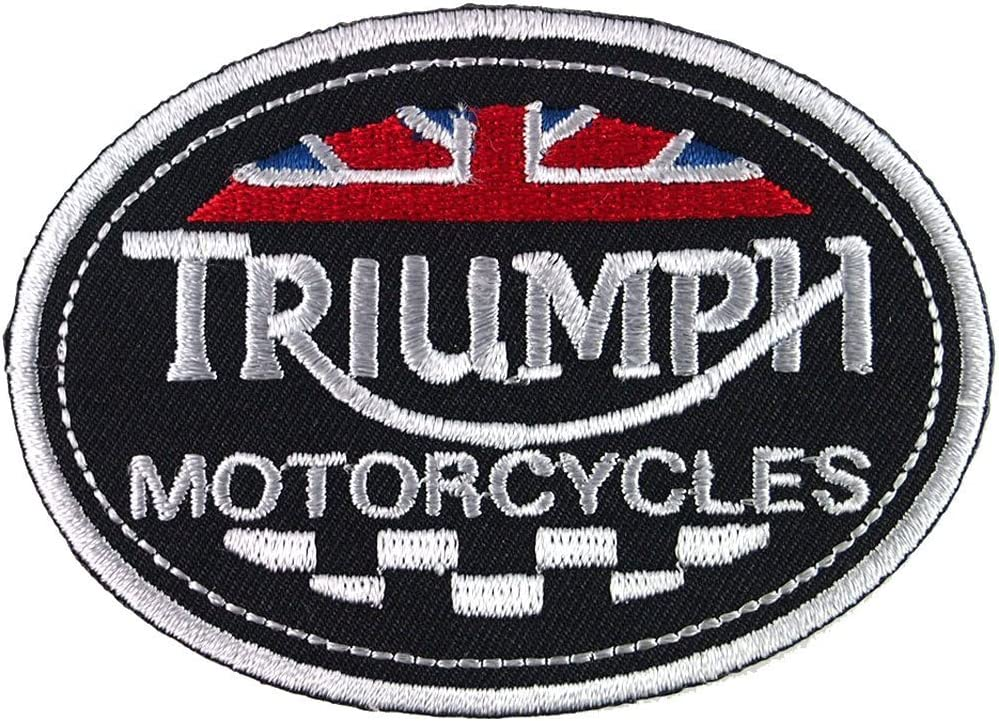 TRIUMPH  MOTORCYCLES  IRON ON PATCH NEW  BIKER PATCH USA SHIPPER