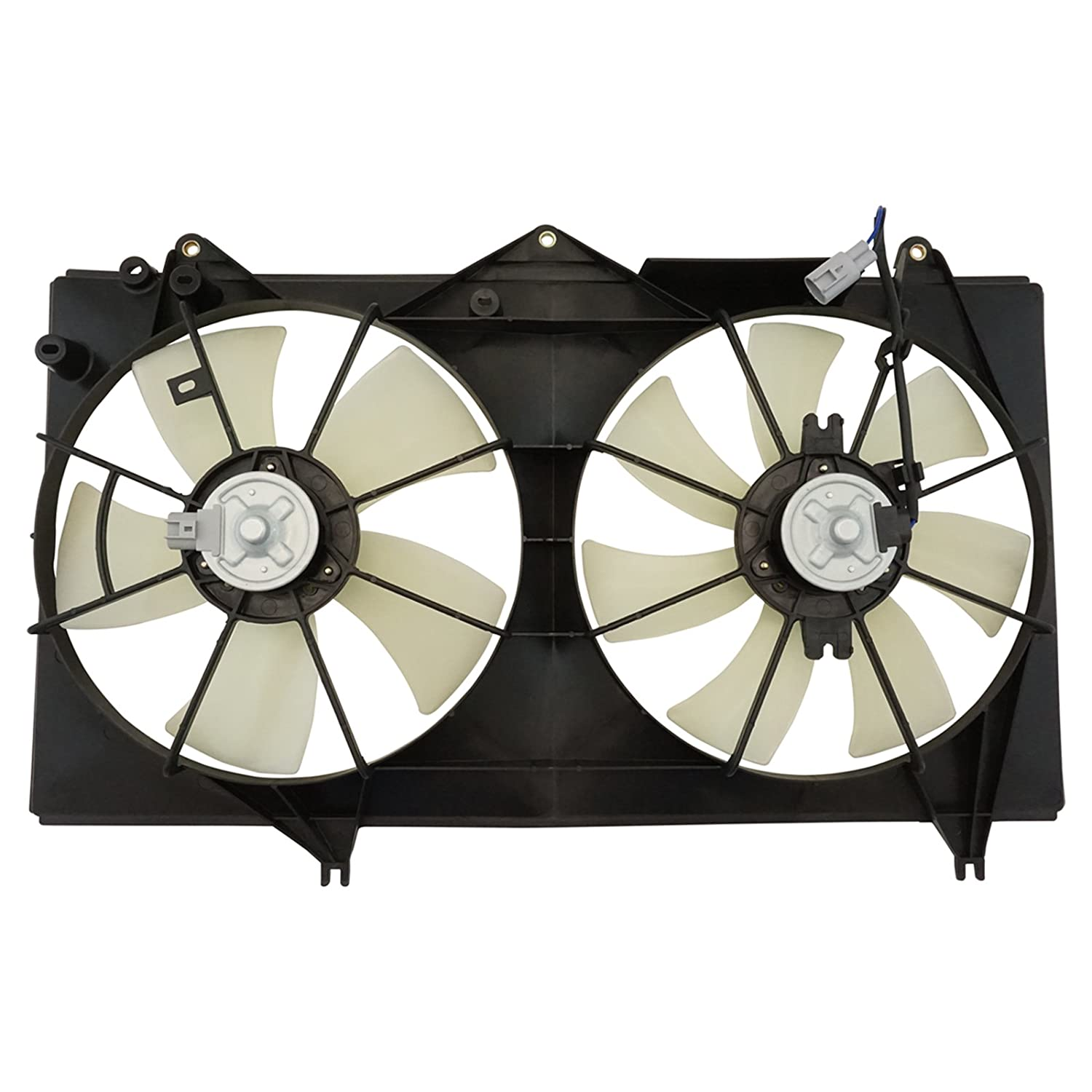 Dual Radiator AC Cooling Fan w//Motor for Toyota Camry Solara 2.4L