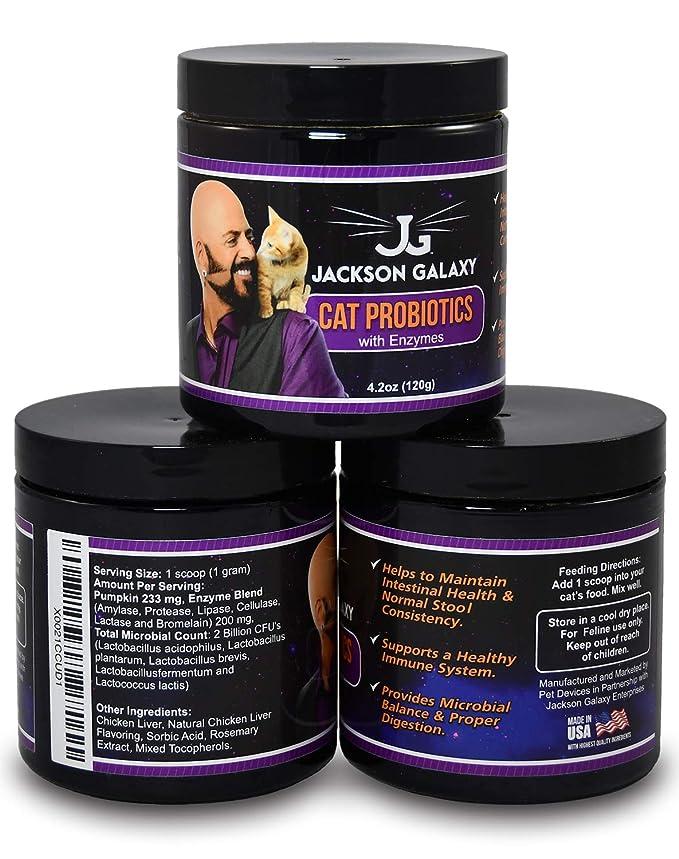 Amazon.com: Jackson Galaxy Cat Probiotics – Mejor ...