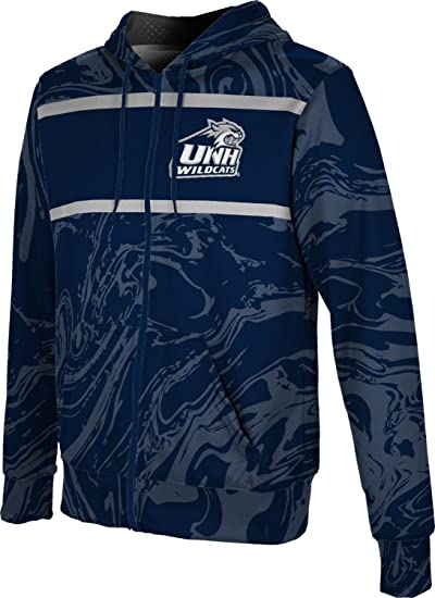 ProSphere University of New Hampshire Mens Fullzip Hoodie Brushed