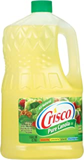 product image for Crisco Pure Canola Oil, 1 Gallon -- 4 per case.