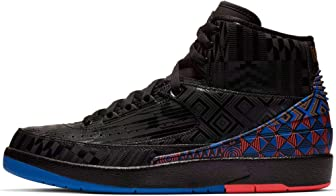 Nike Air Jordan 2 Retro BHM Black History Month BQ7618-007 Basketball Shoes