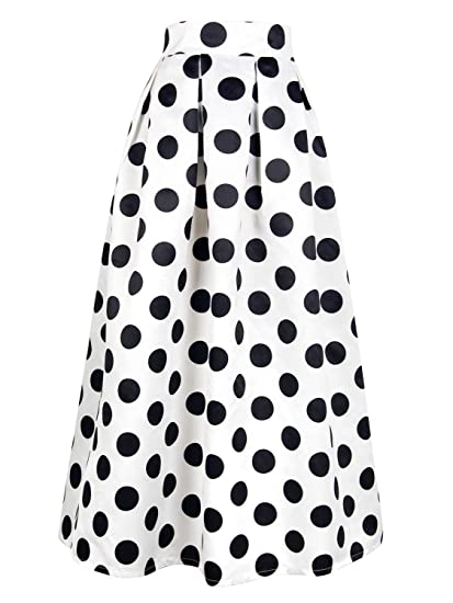 f564fee56 7 faldas largas de estilo cintura alta que están de moda esta ...