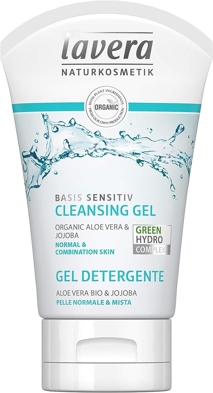 lavera Gel y espuma para limpieza facial ∙ basis sensitiv ...