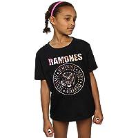 Ramones niñas Flower Rose Camiseta