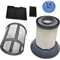 HQRP Dirt Cup Filter Assembly for Bissell 6489/64892 / 64894 Zing Bagless Canister Vacuum