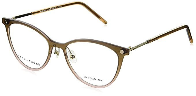 1ce899565784 Image Unavailable. Image not available for. Colour  Marc Jacobs Marc 32  0TVX Brown Pink Eyeglasses