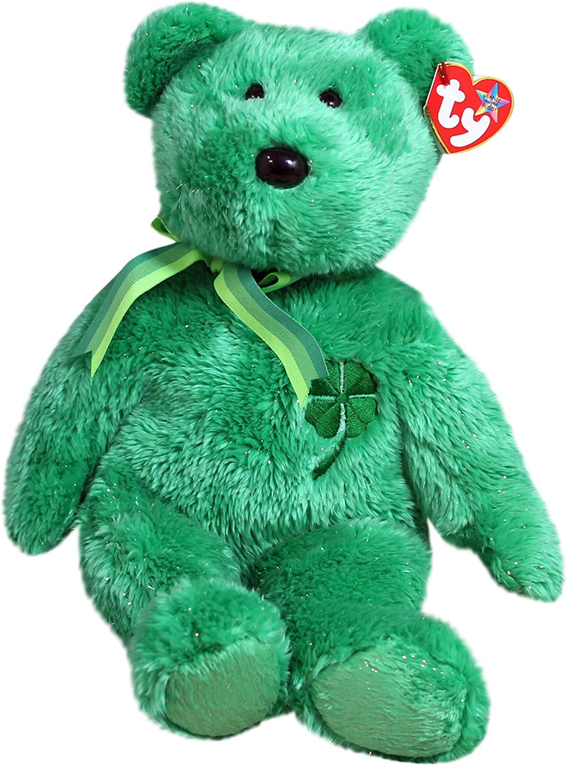 TY SHAMROCK the BEAR BEANIE BABY MINT with MINT TAG