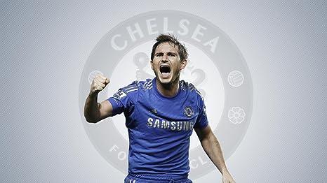 Sports Chelsea F.C. Soccer Club Frank Lampard Wall Poster Paper Print on  fine Art Paper 13x19 753461eb5