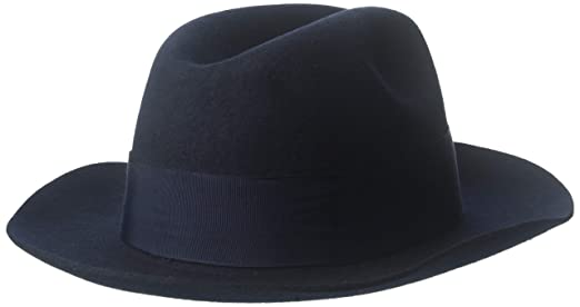 88e93028101 Amazon.com: Stacy Adams SAW536 Mens Sa Cannery Row Wool Hat Hats, NAVY - 2:  Health & Personal Care