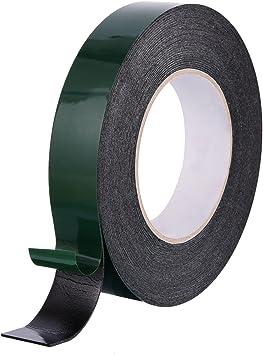 19 mm x 50 m x 1 mm thick 15 Rolls Double Sided Foam Tape