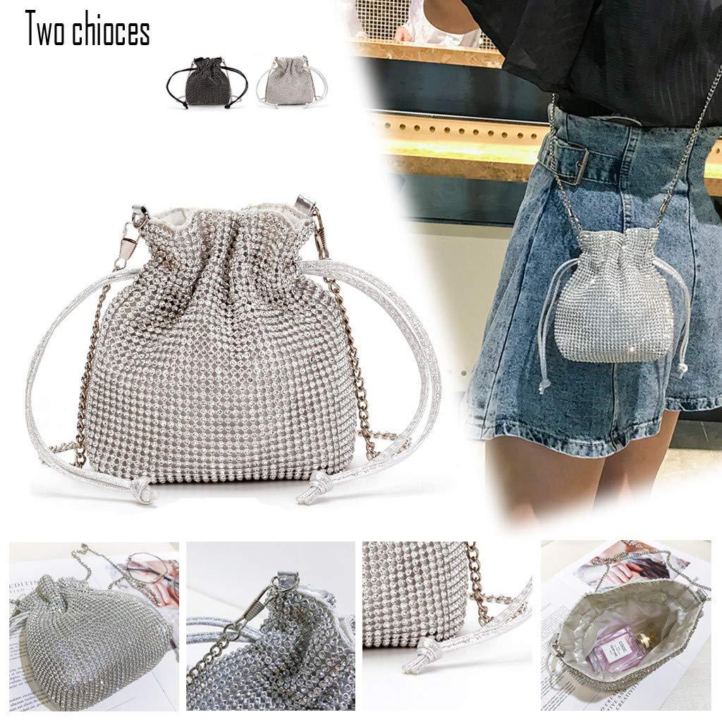 Colores Pastel Suave Clutch Bag Bolso de mano cartera de fiesta de noche de graduación de Boda Diseño