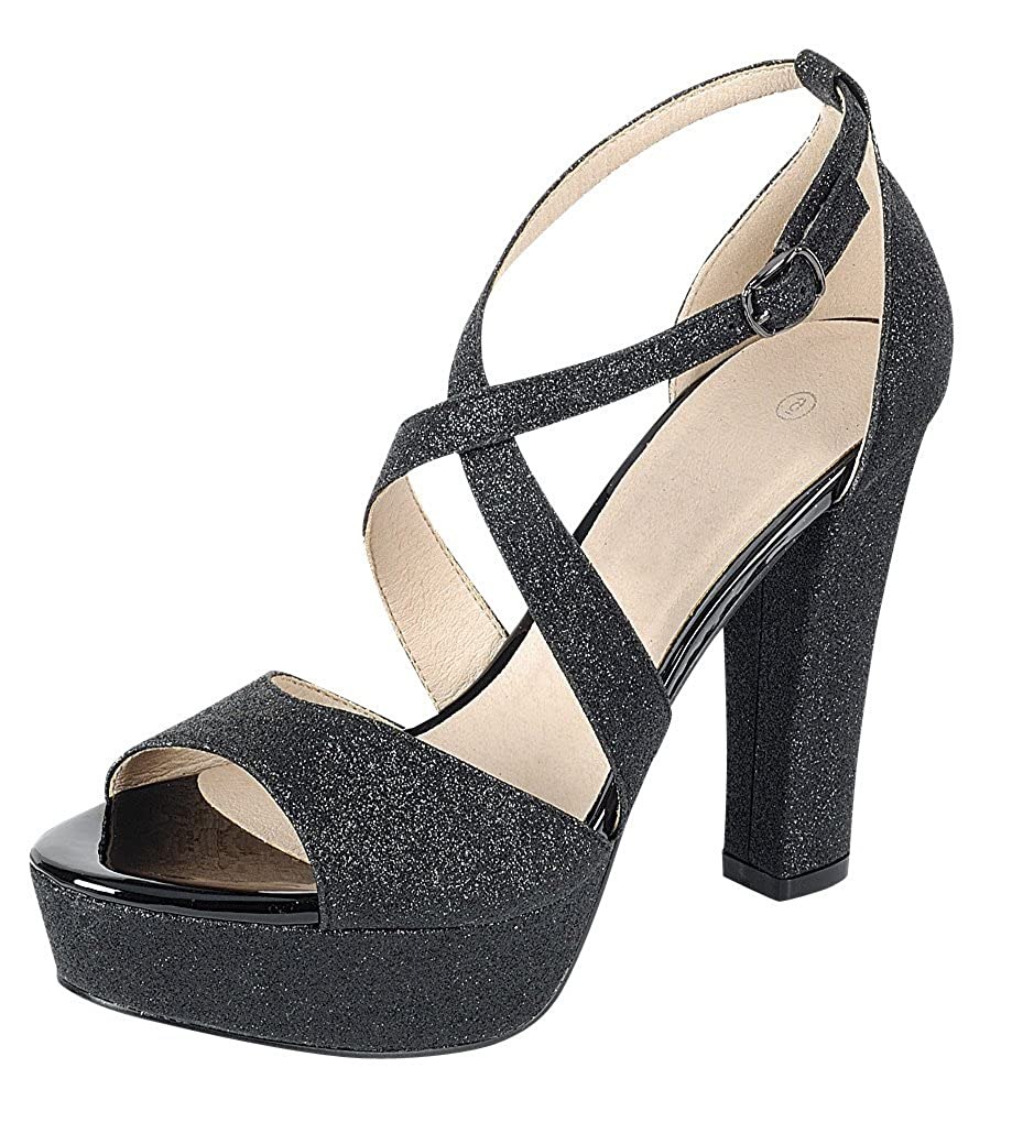 02b006ab20 MUST HAVE STYLE: Take your special occasion outfit to the next level with  this head-turning glitter sandal. EFFORTLESS COMFORT & SLIP RESISTANT:  Non-skid ...