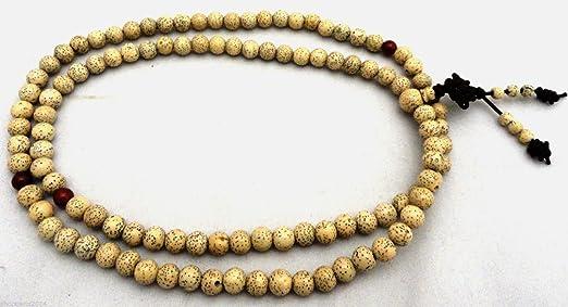 siddhratan lotusmind Natural 108 cuentas semillas de loto ...