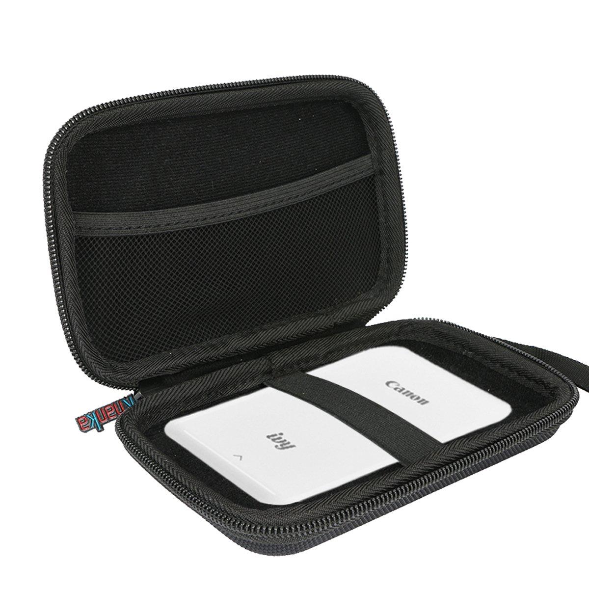 Khanka case Tasche Schutzh/ülle f/ür HP Sprocket Plus Mobiler Fotodrucker. rot//Weiss
