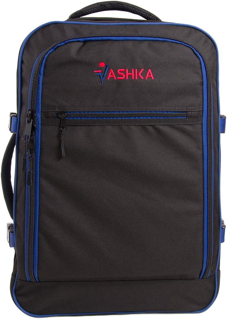 Azul Marino Bolsa de Mano Massive de 44 litros Maleta de Viaje de Mano 55x40x20 cm Mochila Vaska aprobada para Vuelo