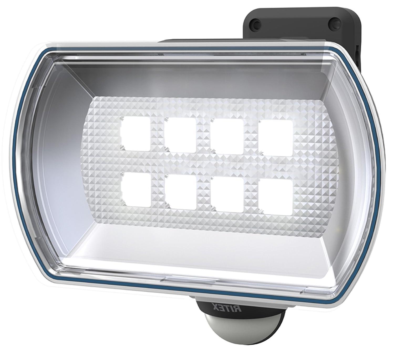 2位.ムサシ 4.5Wワイド フリーアーム式LED乾電池センサーライト
