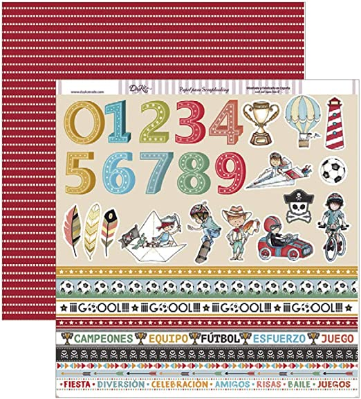 Dayka Trade Scrapbooking Paper Multi-Colour One Size
