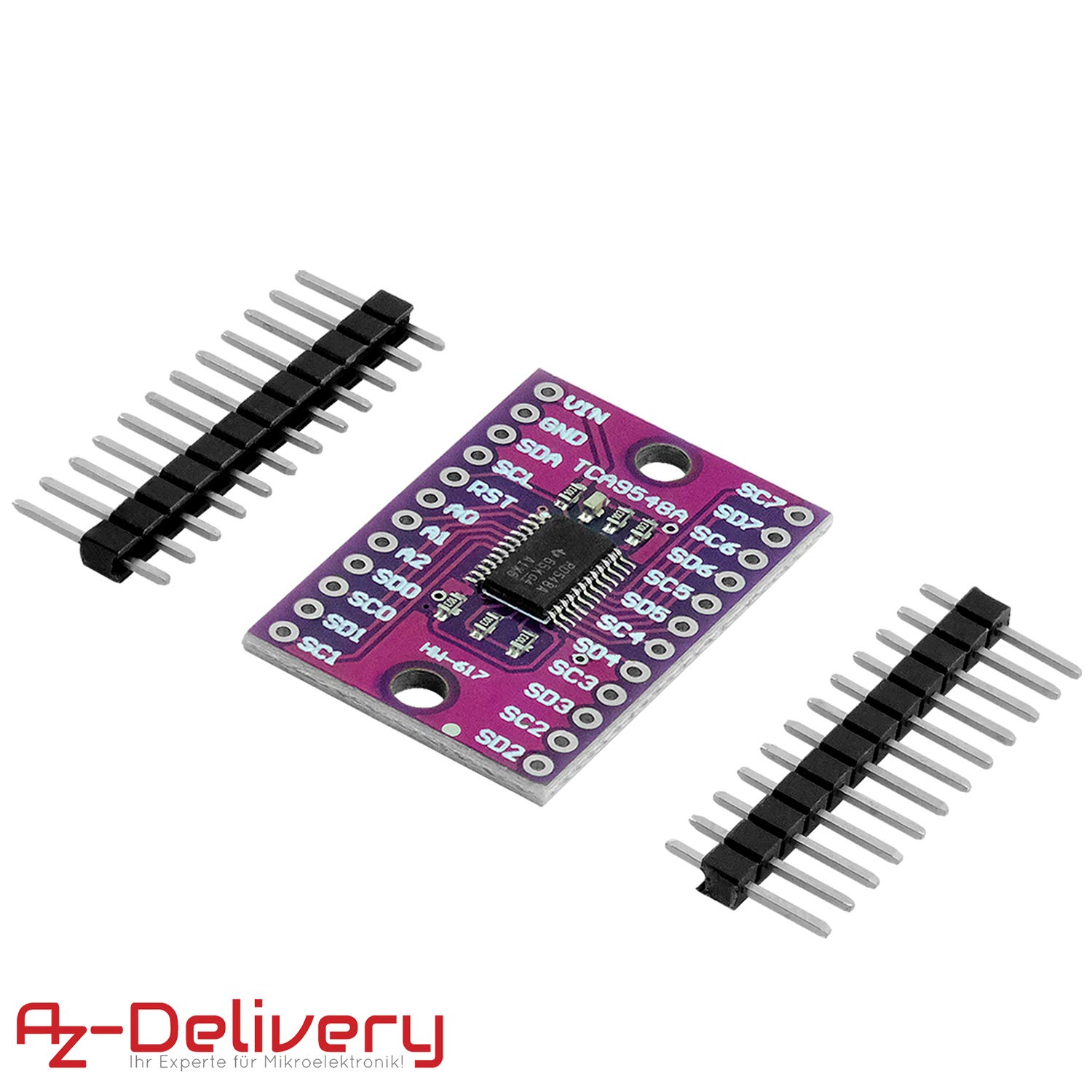 AZDelivery TCA9548A Low-Voltage 8-Channel I2C Multiplexer Including E-Book!