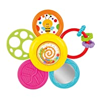 KiddoLab Infant Spin, Rattle and Teether Toy. Baby Multi-use Toy for Better Relaxation...