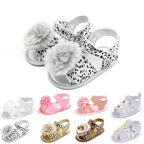 eaa1af1c318f Tutoo Baby Girls Shoes Sandals Soft Anti-Slip Sole Newborn PU Leather Shoes  Infant Fist