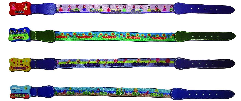 BELTS KIDS PACK x 4