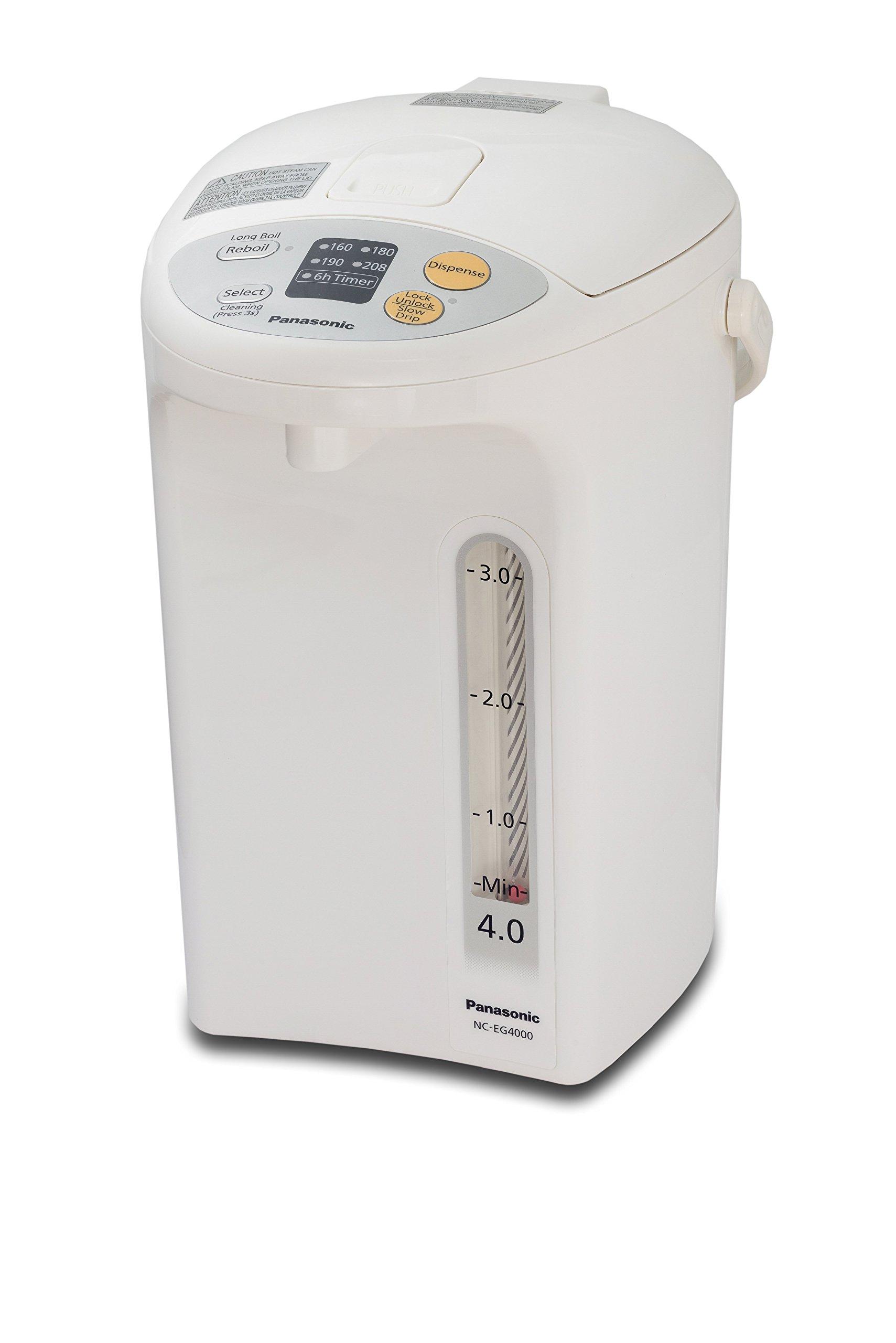 Panasonic NC-EG4000 Thermo Pot, 4 L, White