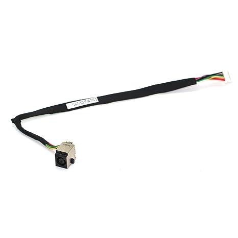 Note-X DNX Connecteur de Charge et dalimentation Compatible pour PC Portable HP Pavilion 15-e057sf avec C/âble DC in Jack Power