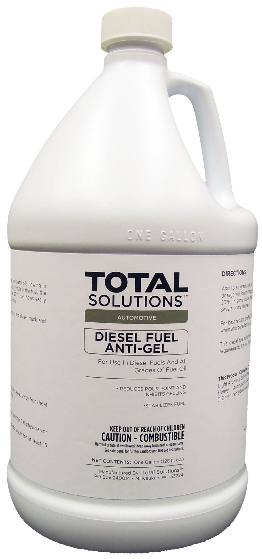Diesel Fuel Anti-Gel, Concentrated fuel additive - 4 Gallons by EcoClean Solutions