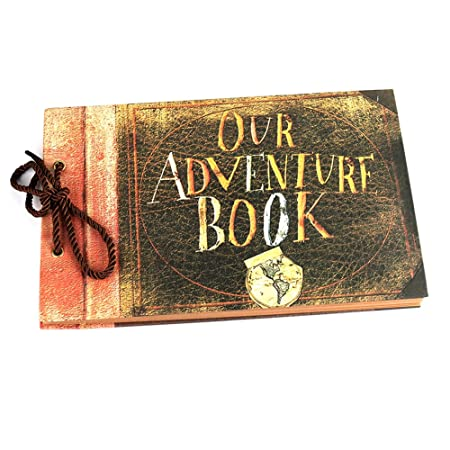 Osunp Our Adventure Book Photo Album Diy Anniversary Scrapbook Album