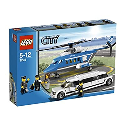 LEGO City Set #3222 Helicopter Limousine: Toys & Games