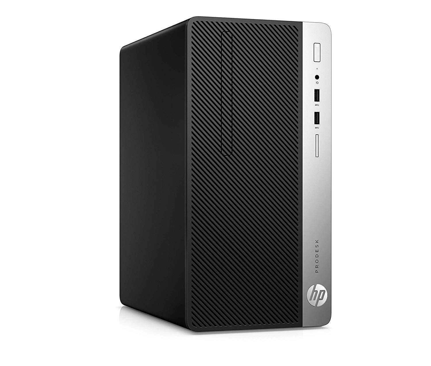 HP ProDesk 400 G5 MT - Ordenador de sobremesa profesional (Intel Core i5-8500, 8GB RAM, 1TB HDD, Intel Graphics, Windows 10 Pro) Negro - Teclado QWERTY Español y ratón