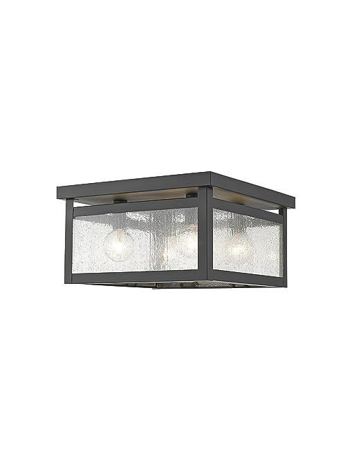 Amazon.com: livex iluminación 4052 Milford 4 luz Flush Mount ...