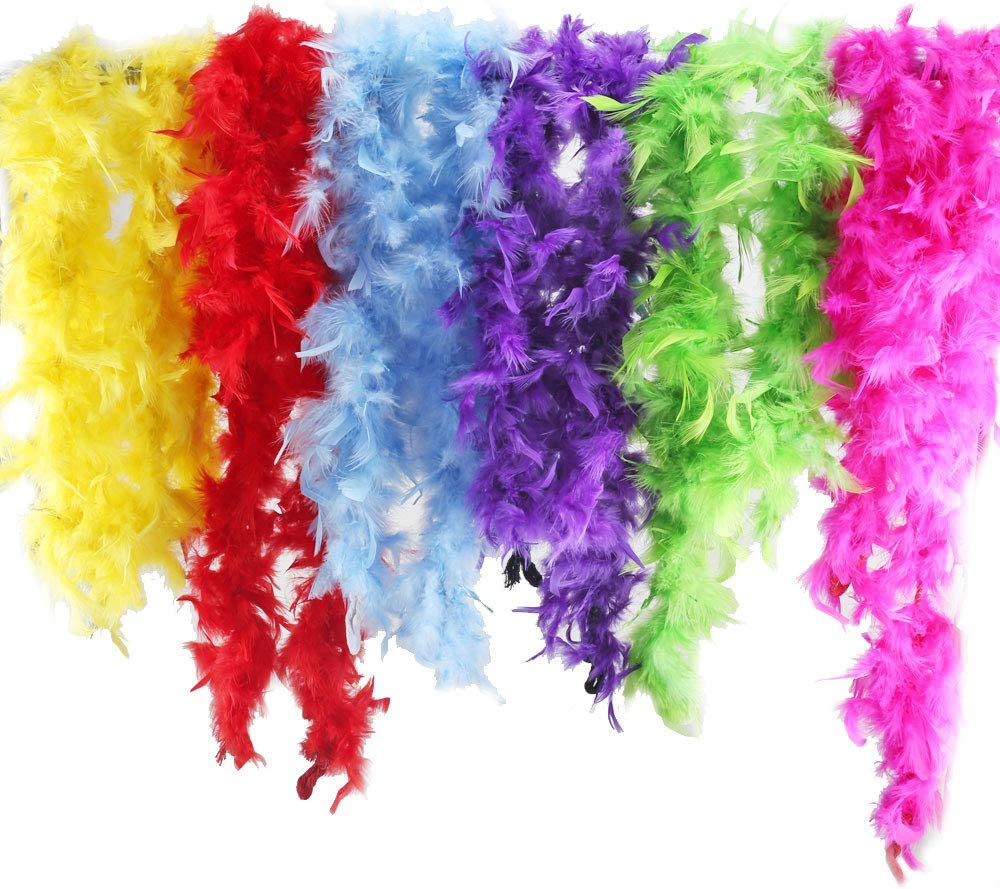 50g Black 59inches 30864 US Smiffys Womens Feather Boa