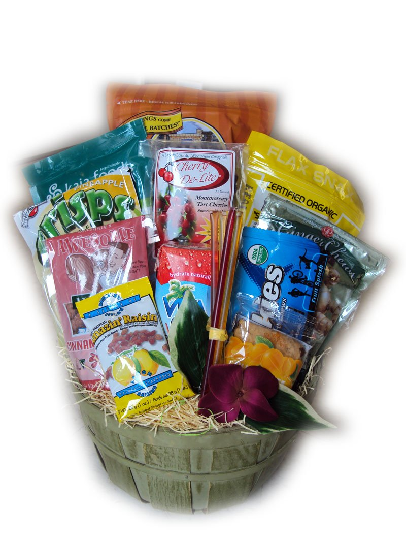 Marathon Runner Sampler Gift Basket by Well Baskets