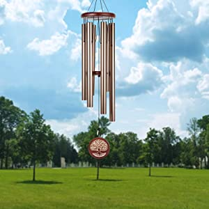 Noble House Wind Chimes Outdoor Deep Tone,40