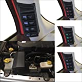 Apollointech Left Side A-Pillar 4-Switch Pod/Panel Power Distribution Control System Compatible with Jeep Wrangler JK…