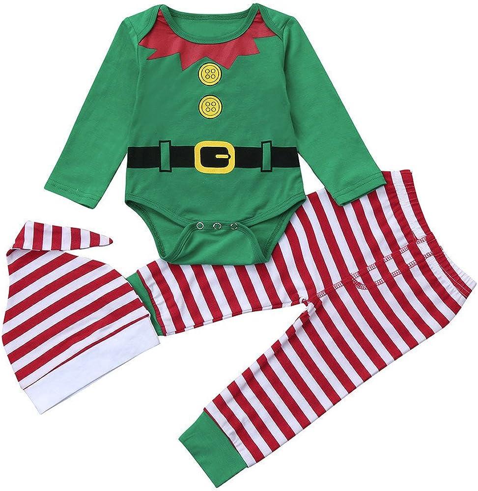 Infantil Disfraz Navidad Fossen Recien Nacido Niña Niño Bebe Monos ...