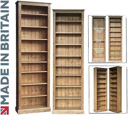 Pino macizo librería, 243,84 cm alto x 76,2 cm hecho a mano y ...